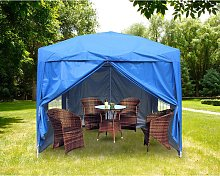 Garden Pop Up Gazebo Party Tent Canopy With 4