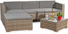 Garden set seating group lounge garden corner sofa