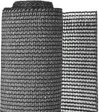 Garden Sight Break Fencing PE 1.5x5m Anthracite -