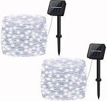 Garden Solar Lights,Cshare 2 Pack 120 LED Solar
