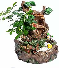 Garden Statue Succulents Flower Container Fairy