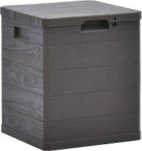 Garden Storage Box 90 L Brown - Brown