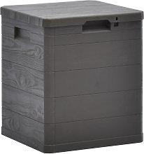 Garden Storage Box 90 L Brown
