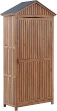 Garden Storage Cabinet Outdoor Tool Shed with