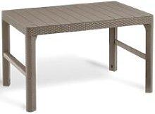 Garden Table Lyon Cappuccino 232296 - Allibert