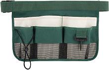 Garden tool belt bag, tool storage bag, green
