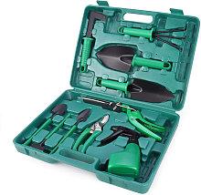 Garden Tool Set 10pcs Stainless Steel Garden Tool