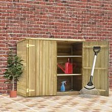 Garden Tool Shed 135x60x123 cm Impregnated