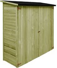 Garden Tool Shed Impregnated Pinewood 182x76x175