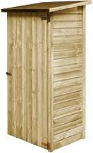 Garden Tool Shed Impregnated Pinewood 88x76x175 cm