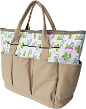 Garden Tool Tote with Multi Pockets Portable