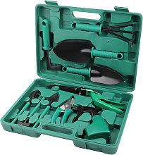Garden Tools Set 10 Pcs Stainless Steel Garden
