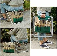 Garden Tools Set Organizer | Gardening Stool Set