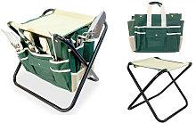 Garden tools set storage bag stainless steel