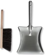 Garden Trading - Dustpan & Brush - Silver