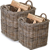 Garden Trading Rattan Basket - Set of 2 - 1 Set