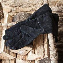 Garden Trading - Suede Gauntlet Gloves Black