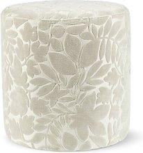Gardenhire Pouffe Ophelia & Co. Upholstery Colour: