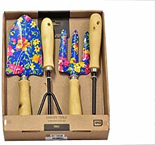 Gardening Tool Set, 4 Piece, Blue