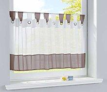 Gardinenbox 610710ep Bistro Curtain Panel Voile