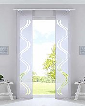 Gardinenbox Curtain Box Set of 2 Panel Curtains