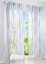Gardinenbox Eyelet Curtain with Eyelets Voile