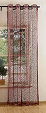 Gardinenbox Mesh Net Curtain with Eyelets,