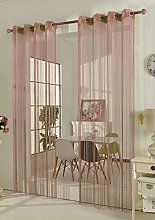 Gardinenbox String Curtain with Eyelets Room