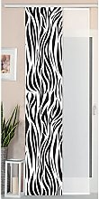Gardinenbox Zebra Box Sliding/Panel Curtain Silk