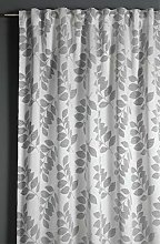 GARDINIA Opaque Jacquard Curtain with Concealed