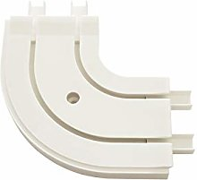 Gardinia Round bend GE2 for extension white