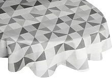 Gareth Tablecloth Mikado Living Colour: Grey/Light