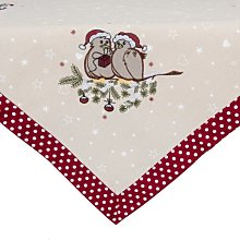 Garett Christmas Doves Tablecloth Symple Stuff