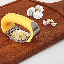 Garlic Grinder Mini Portable Stainless Steel Press