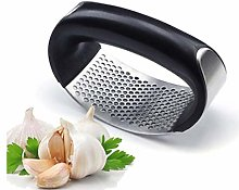 Garlic Press, Professional Stainless Steel Garlic