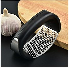 Garlic Press, Stainless Steel Garlic Crusher