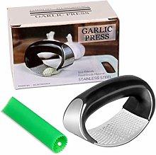 Garlic Presser Curved Garlic Grinding Slicer