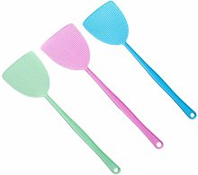Garneck 3Pcs Fly Swatter Manual Swat Fly Control