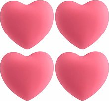 Garneck Heart Shape Knob Soft Rubber Cabinet
