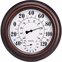 Garneck Indoor Outdoor Thermometer Hygrometer Wall