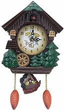 Garneck Quartz Cuckoo Clock Forest House Wall