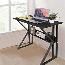 Garonare Black Computer Desk with Stable Unique