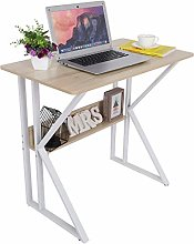 Garonare Cherry maple Computer Desk with Stable
