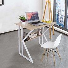 Garonare Computer Cherry maple Desk with Stable