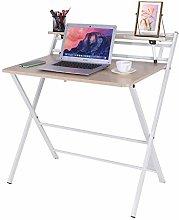 Garonare Computer Desk Stable Z-Shaped PC Table