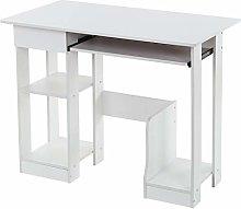 Garonare Movable Computer Office Desk Table