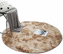 Garretlin Area Rug Soft Round Fluffy Plush Carpet