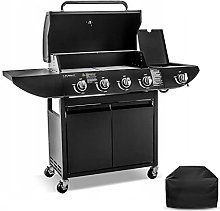 Gas Barbecue Burner Garden Grill BBQ Side Burner &