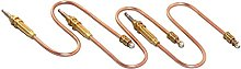 Gas Pilot Burner Thermocouple 30cm (Qty 3) for