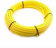 Gas Pipe Yellow POLYETHYLENE 25mm x 50M
